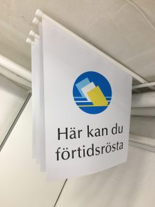 Fasadflagga med eget tryck