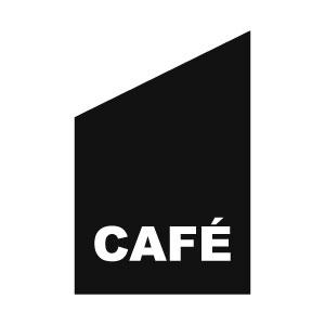 Caféflagga för fasad