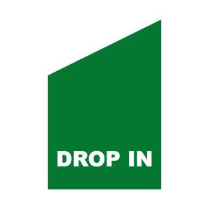 Grön flagga för fasda drop in