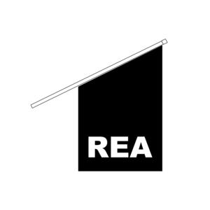 Fasadflagga REA