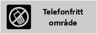 informationsskylt telefonfritt
