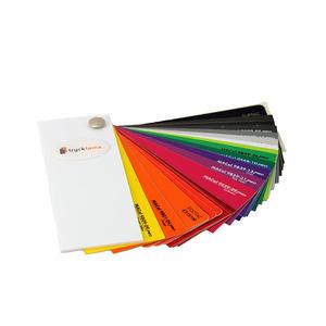 Standardfärger självhäftande vinylfolie