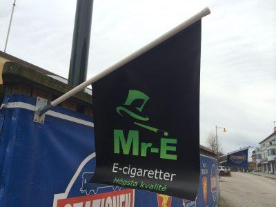 Kioskflagga med eget tryck