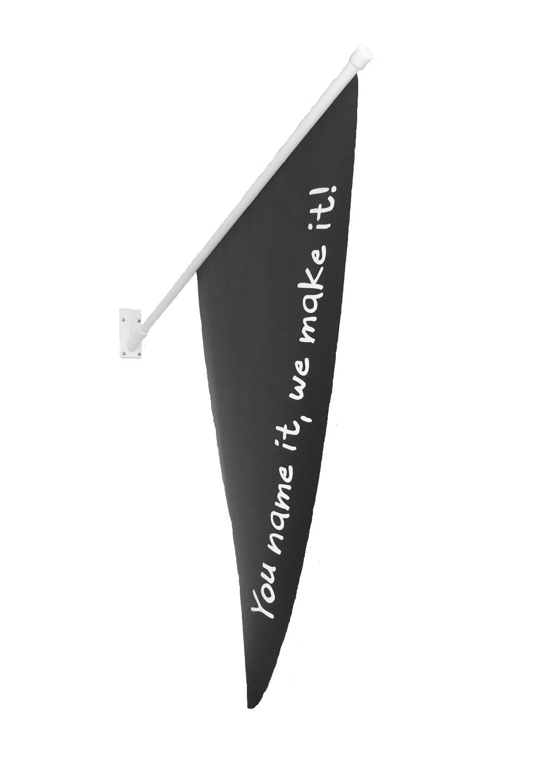 fasadflagga med egen form
