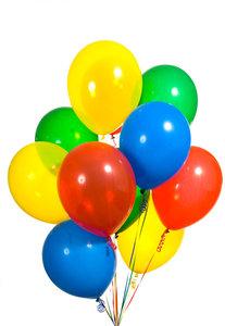 Ballonger med eget tryck