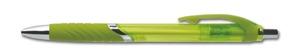 Gron transparant blackpenna med eget tryck