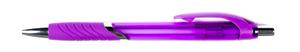 Lila-transparant-blackpenna-med-eget-tryck