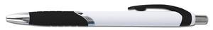 Svart vit blackpenna med eget tryck