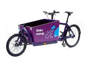 Utskurna dekaler till cykel