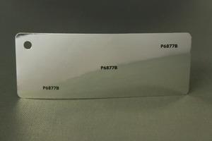 P6877B-3. Blank silver Metall självhäftande vinylfolie