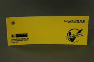 TuningFilm 708-09 BF Banana yellow matt - Sublime