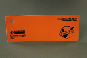 TuningFilm 708-35 BF Flash orange matt - Sublime