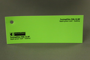 TuningFilm 748-13 BF Apple green matt - Sublime