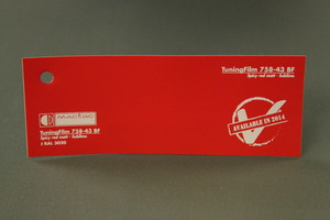 TuningFilm 758-27 BF Spicy red matt - Sublime