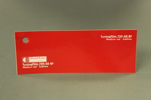 TuningFilm 759-00 BF Medium red - Sublime
