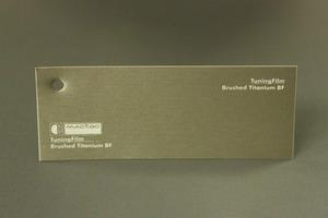 TuningFilm Brushed Titanium BF