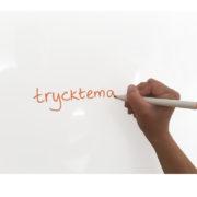 Självhäftande whiteboard vinylfolie plast