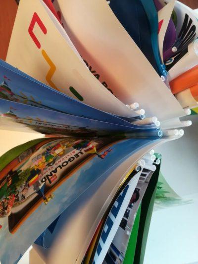 Pappersflaggor med ditt eget varumärke