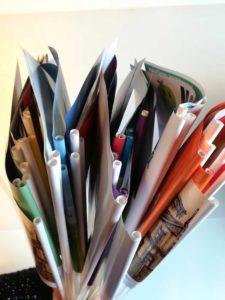 pappersflaggor med ditt eget tryck